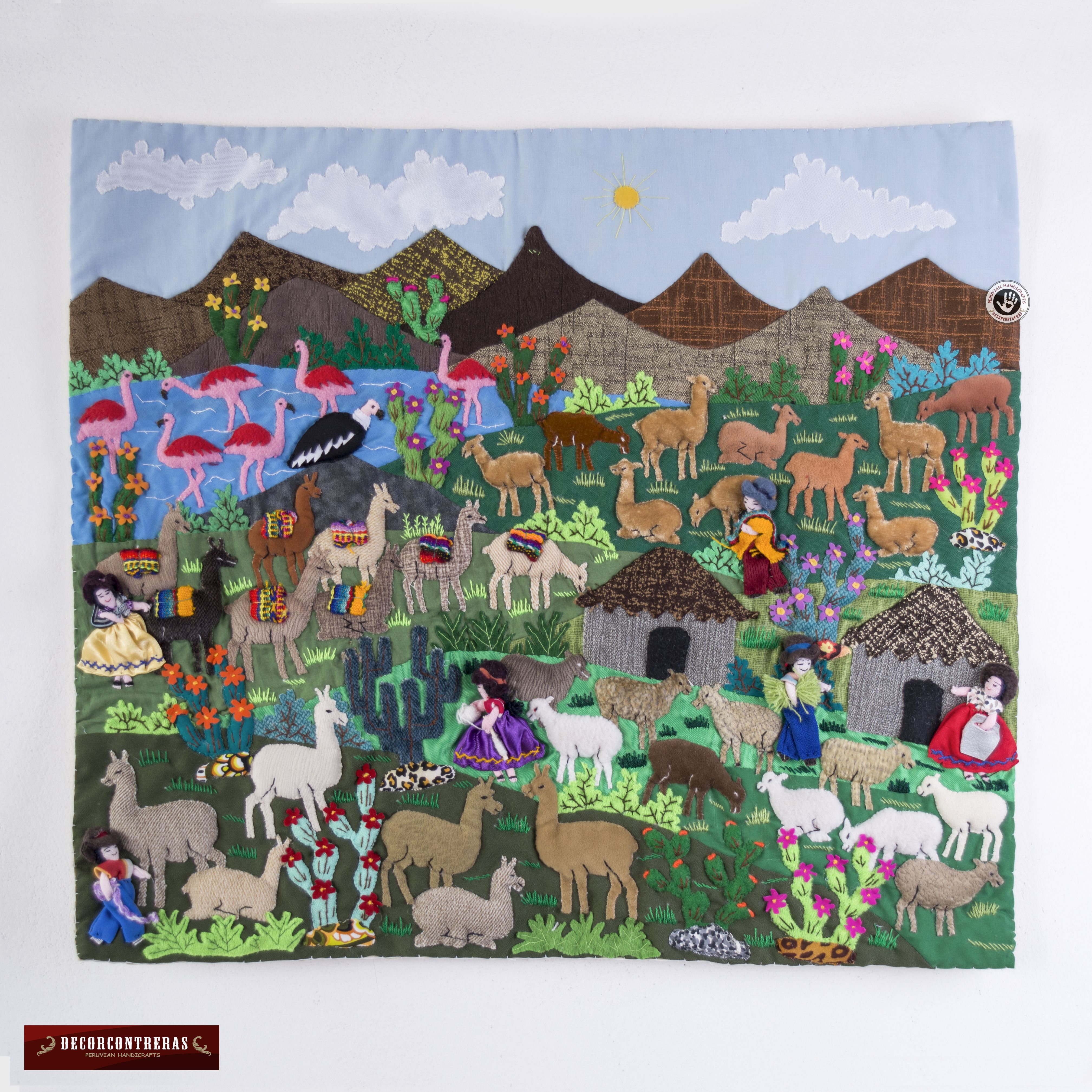 Pin On Peruvian Folk Art