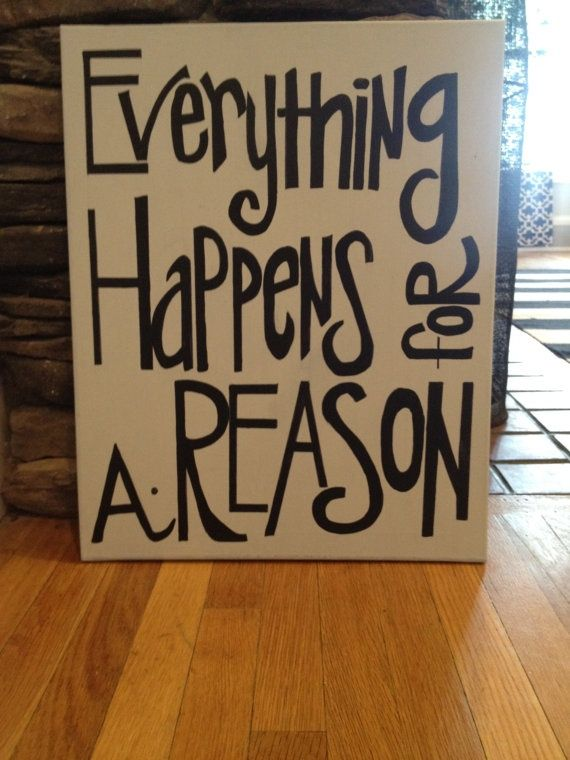 16x20 Canvas quote painting by maggieyork on Etsy, $25.00