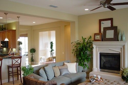Whispering Wheat Glidden Favorite Paint Colors Pinterest Traditional Family Rooms