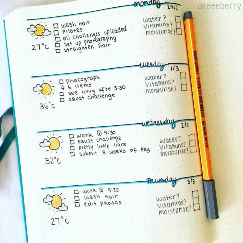 daily layout for bullet journal my bullet journal bullet journal daily bullet journal. Black Bedroom Furniture Sets. Home Design Ideas