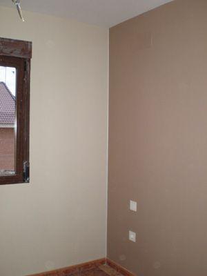 Habitacion pintada en dos colores buscar con google manualidades pinterest recamara - Pintar paredes de dos colores ...