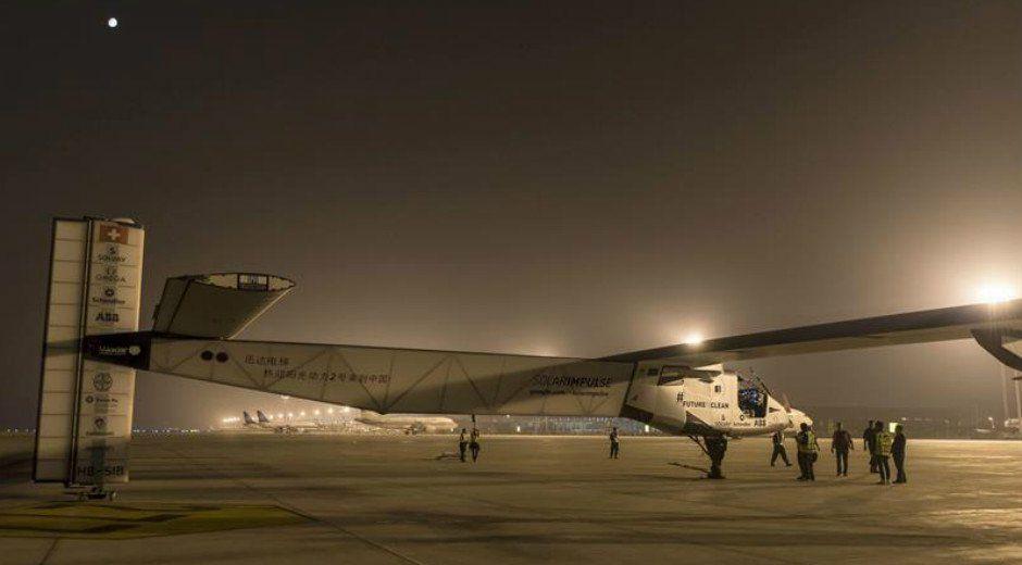 Solar Impulse II aguardará en Japón hasta poder continuar su travesía