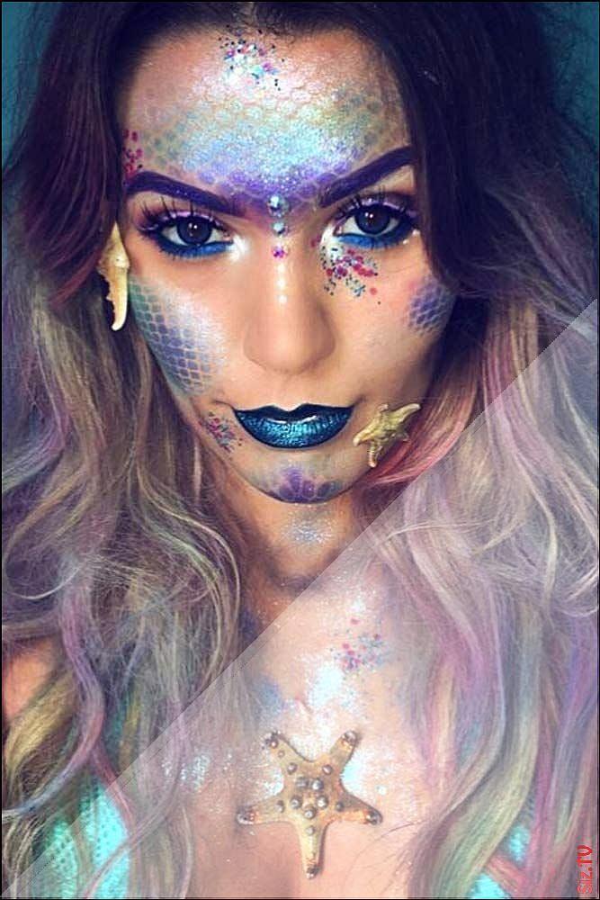 , HalloweenMakeuppretty Cadılar bayramı makyajı, Makyaj