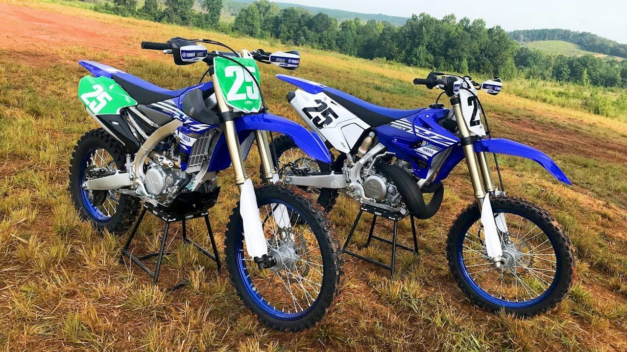 2 Stroke Vs 4 Stroke 2019 Yamaha Yz250x And Yz250fx Dirt Bike Magazine Youtube Dirt Bike Magazine Yz250fx Yamaha