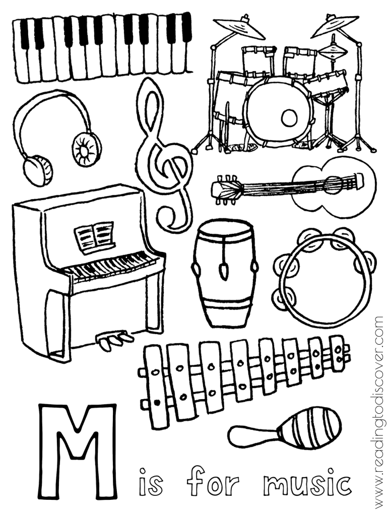 M Is For Music Activities For Preschoolers Preschool Music Activities Music Crafts Preschool Preschool Music Lessons