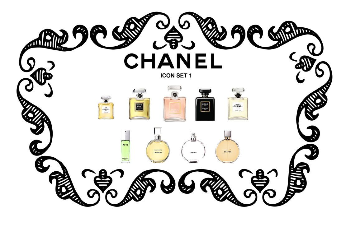 Chanel Icon Set 1cc By Trentsxwife