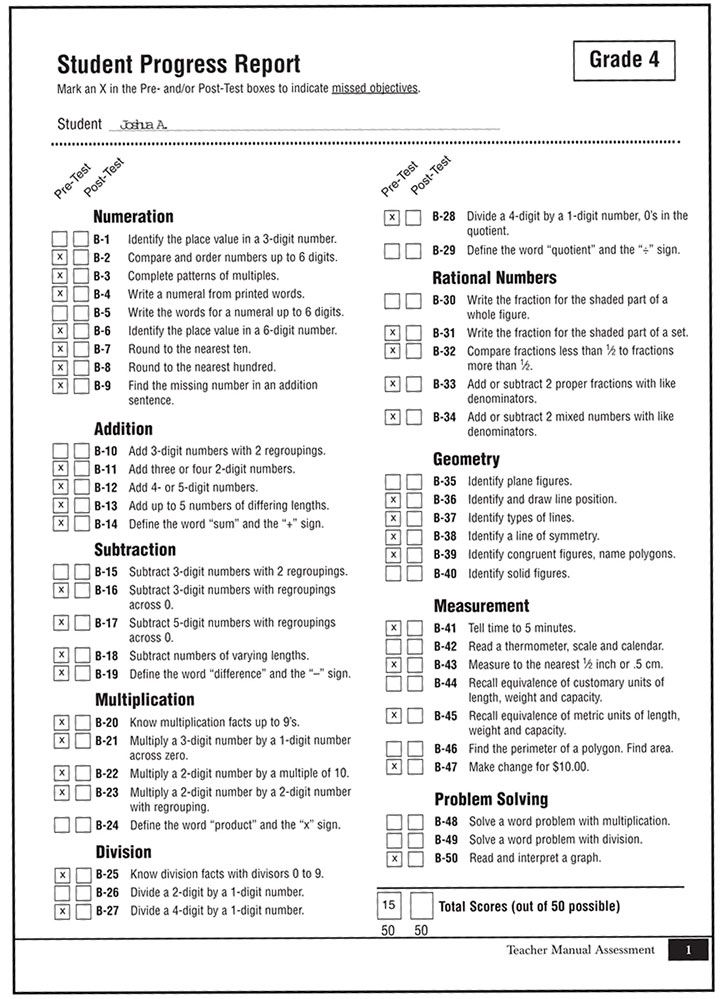 Student Progress Report RTI Pinterest Students, Math and - student progress report template