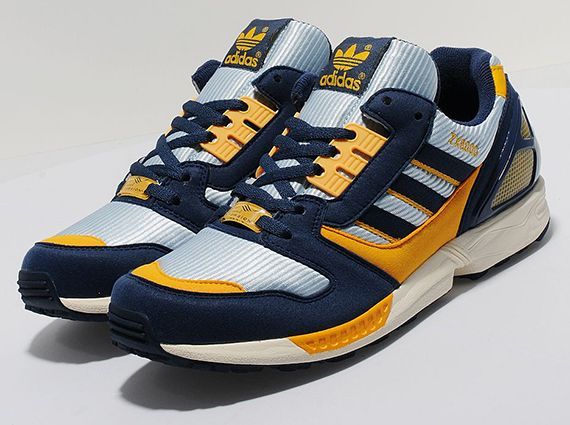 meet 0a139 4dc6b adidas ZX 8000 – Dawn Blue – Dark Slate – Cadmium Yellow