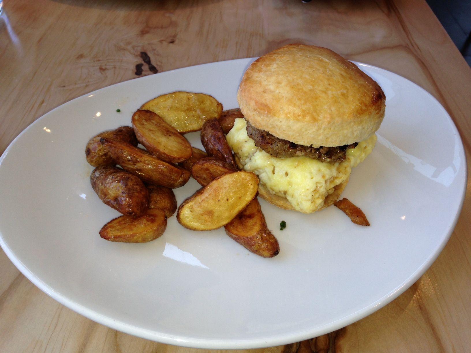 Breakfast Biscuit Sandwich At Gezellig In Ottawa S Westboro Neighbourhood 337 Richmond Road For More Restaurant Options Visit