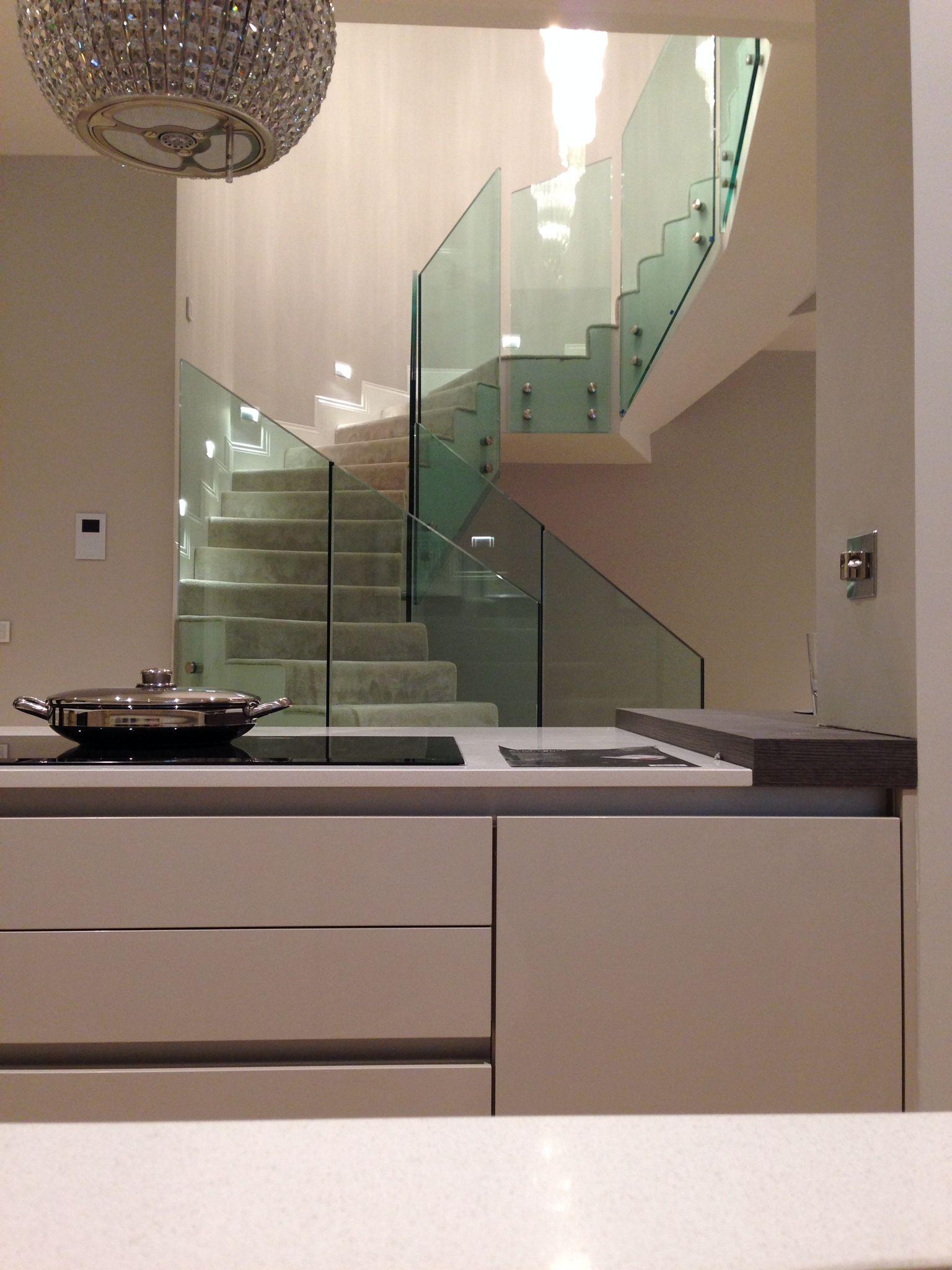 Lighting Basement Washroom Stairs: Stunning #basement #conversion In #Berkshire Apartment