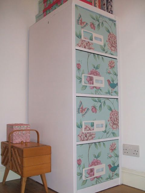 Stitch And Bake Diy Decorative Filing Cabinet Filing Cabinet