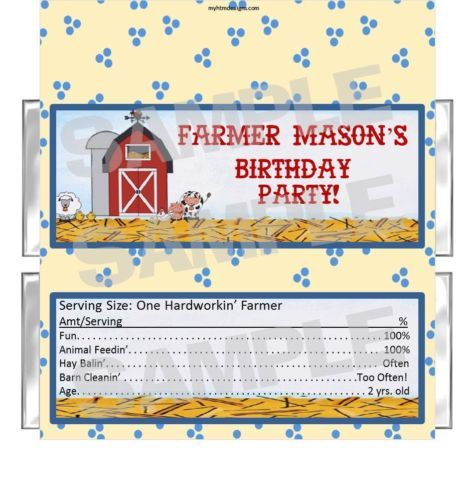 GETTING THESE FOR THE FARM PARTY! RED BARN BARNYARD FARM PARTY ...