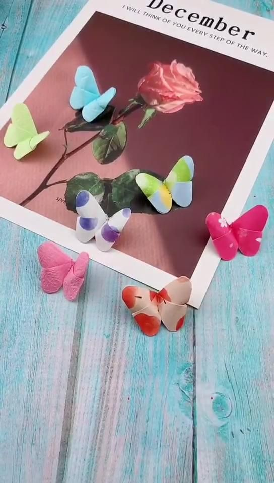 Photo of Diy Origami Animal – Butterfly