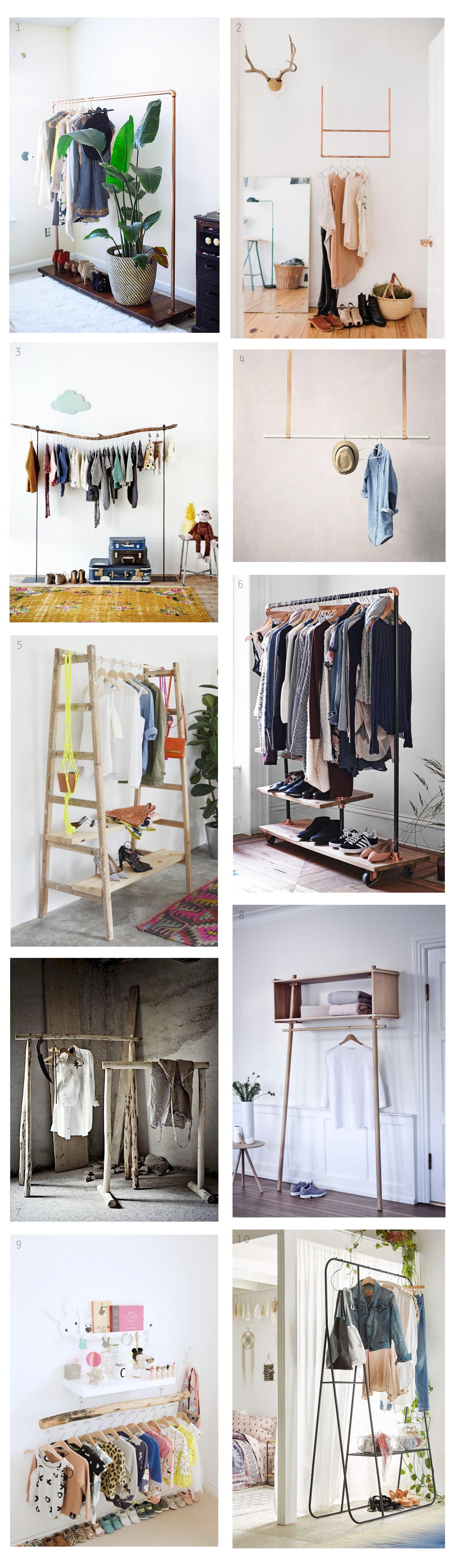 Deco ideas percheros room bedrooms and room ideas