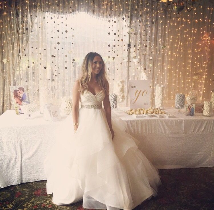 Wedding Wishes After Wedding: Alexandrea Garza Wedding Dress