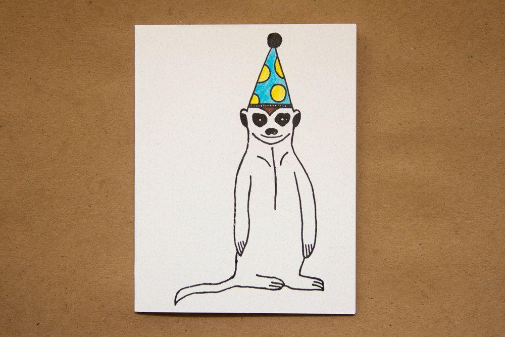 Meerkat Birthday Paper Things Pinterest