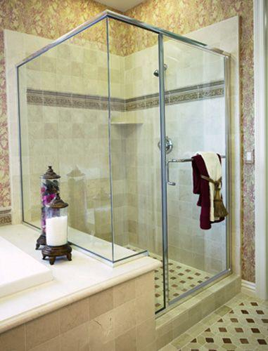 Epic Hinged Series Frameless Shower Doors Hinged Showers Bath Glasscrafters Inc Frameless Shower Doors Custom Shower Doors Glass Shower Enclosures
