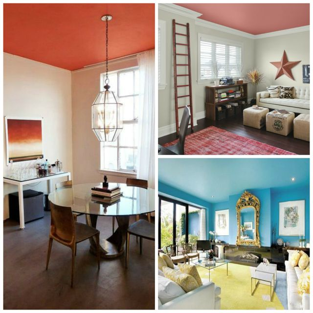 Image result for coloured ceiling