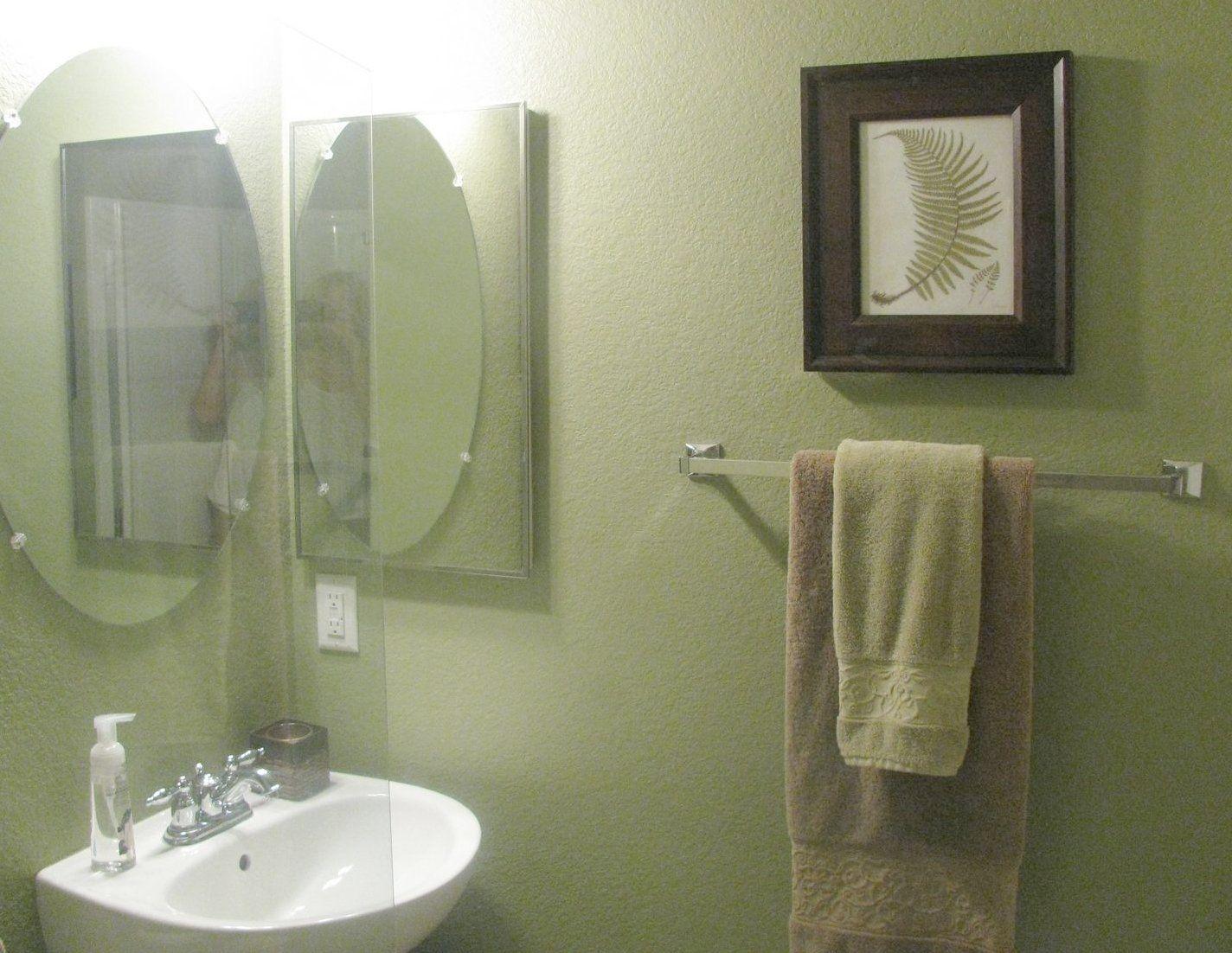 green fern bathroom decoration : green fern bathroom decoration