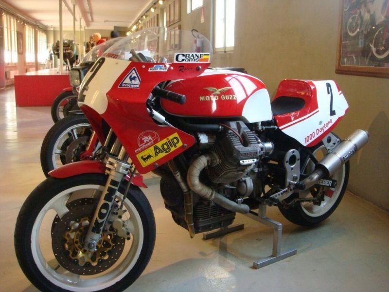Dr. John Wittner Moto Guzzi Daytona Moto guzzi, Racing
