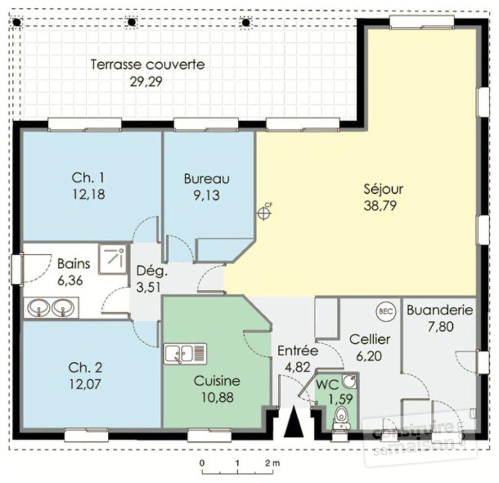 Attractive Plan Rdc   Maison   Maison Familiale
