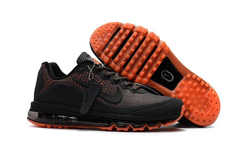 nike air max 2017 black and orange