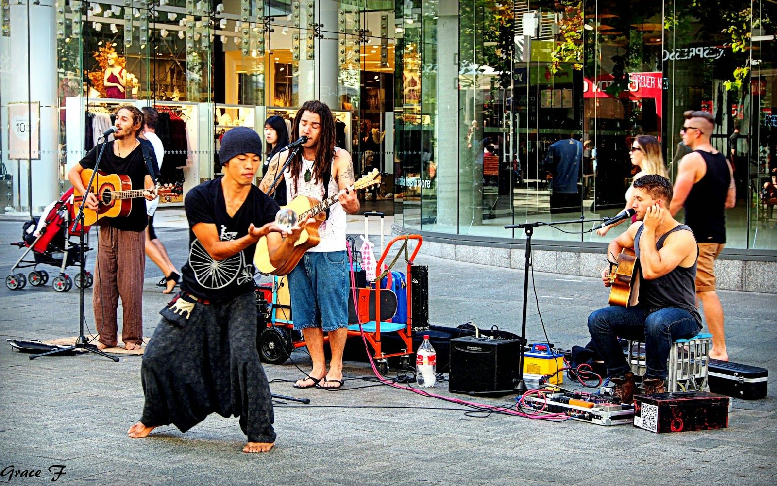 Pin on Perth Buskers