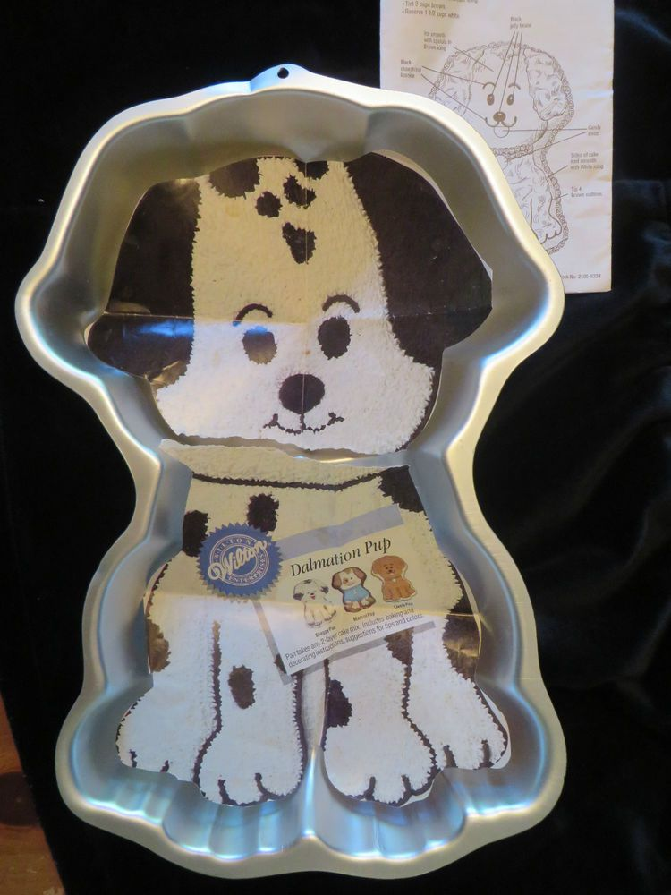1993 Wilton Dalmatian Puppy Dog Cake Pan 2105 9334