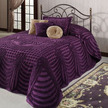 Promenade Cotton Chenille Oversized Bedspreads Bedsp