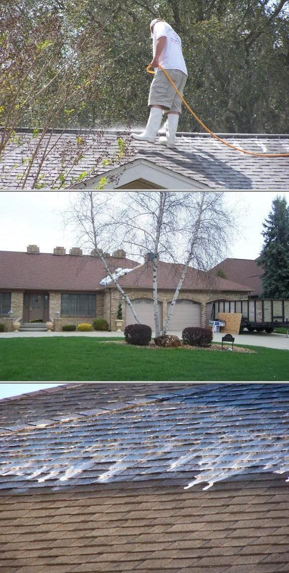 This Commercially Insured Company Has 28 Years Of Experience In Providing Roof Cleaning And Maintenance Services They With Images Roof Cleaning Roseville Pool Maintenance