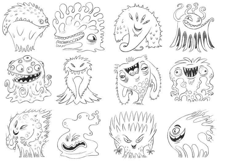 Morceaux de microbes coloriages et techniques de dessin - Coloriage lavage des mains ...