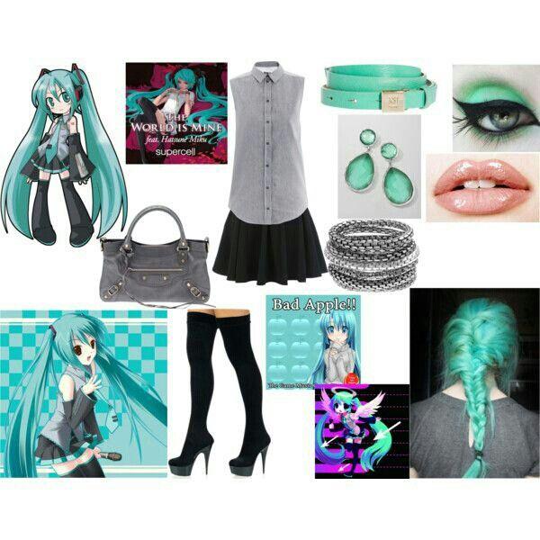 Hatsune Miku Reality | Anime inspired outfits, Cosplay ...