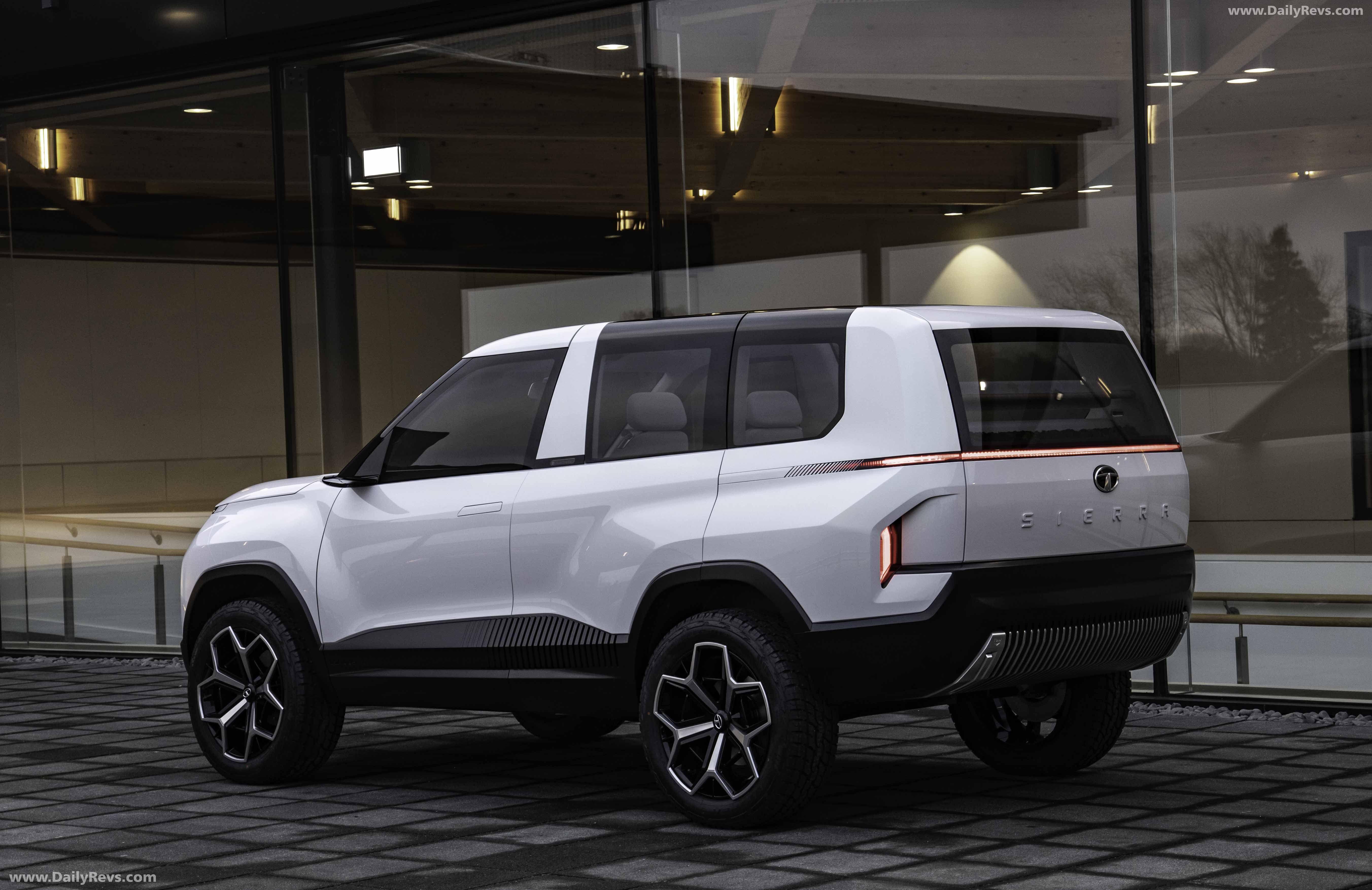 2020 Tata Sierra EV Concept HD Pictures, Videos, Specs