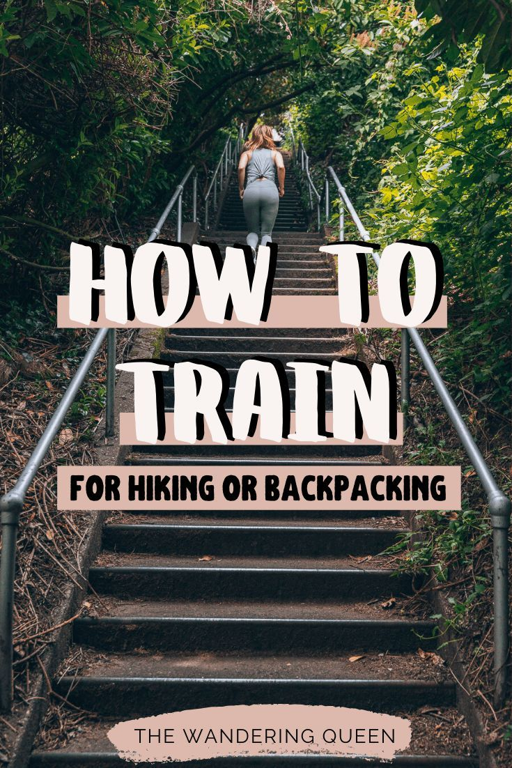 Strength Training For Hiking - The Wandering Queen