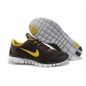 Nike Free 3.0 V2 Herren Anti-Pelz-Schuhe braun gelb