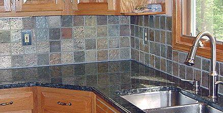 glass tiles for kitchen backsplashes pictures | KITCHEN BRICK ...
