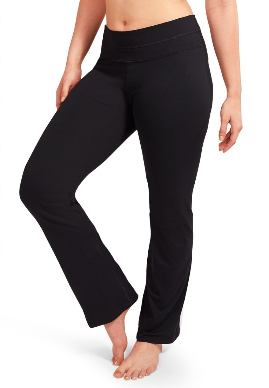 f2920330d1faef plus size straight leg yoga pants with techtile™ performance fabric -  maurices.com
