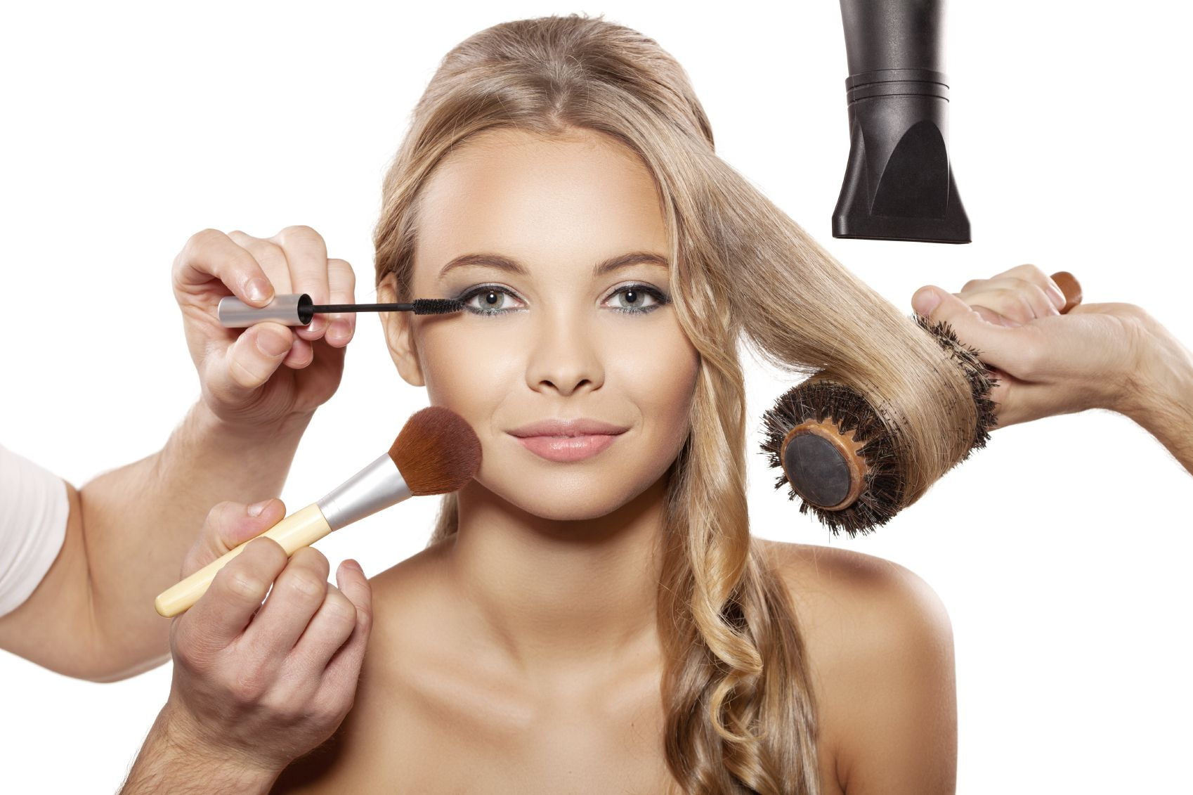 Quick fix tips for hair and makeup cheap hair extensions for A b beauty salon