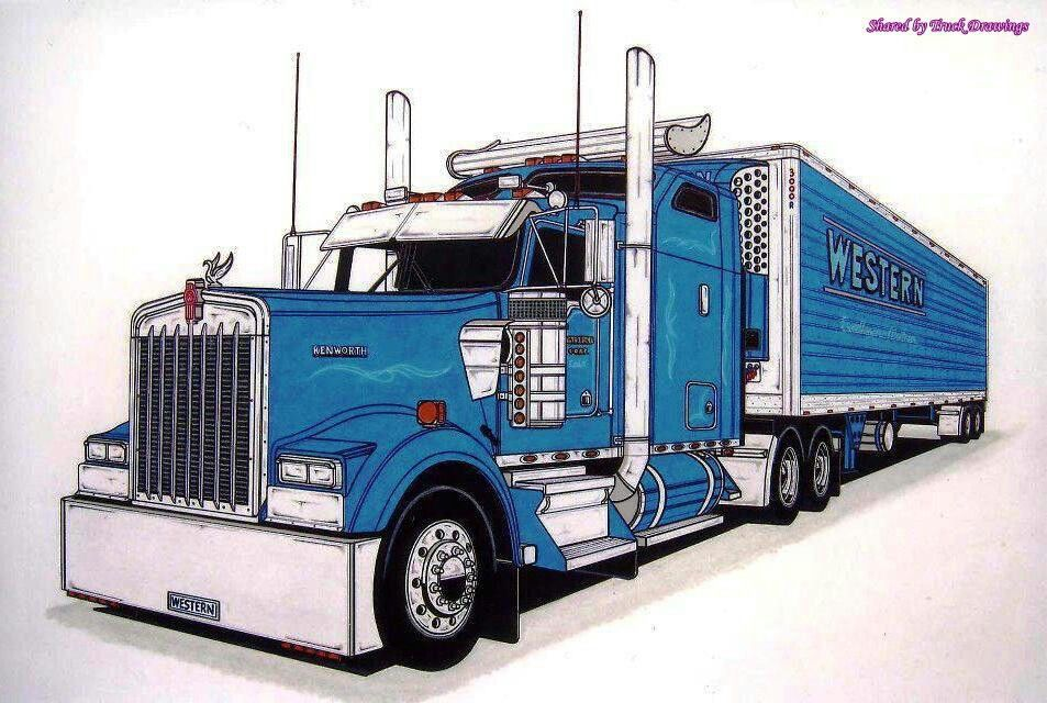 Pin by James Seidl on Truck Art | Pinterest | Rigs, Truck art and ...