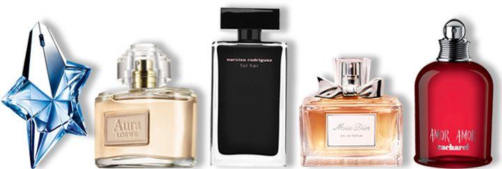 perfumes mas vendidos mujer