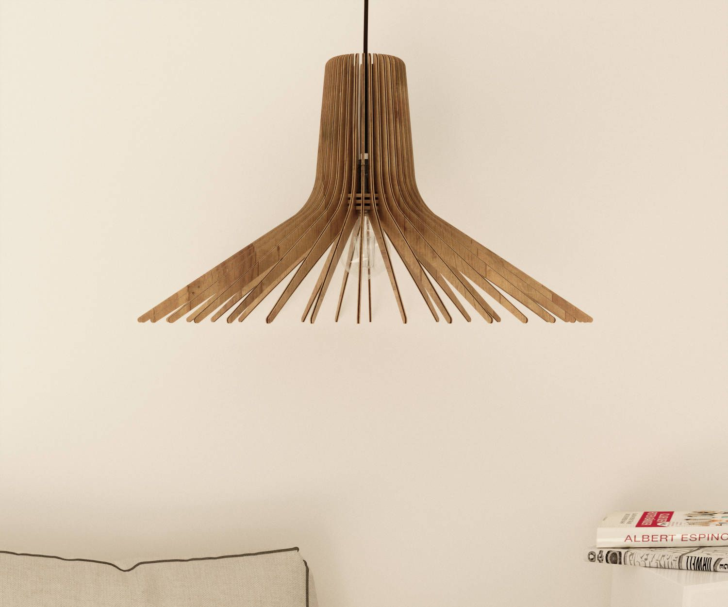 Wood Pendant Light Modern Chandelier Lighting Hanging Dining Lamp Ceiling Light Fixture G Modern Lamp Shades Small Lamp Shades Contemporary Lamp Shades