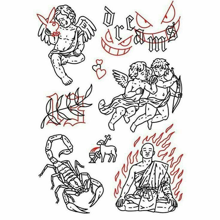 #sketch #эскизы #тату #tattoo