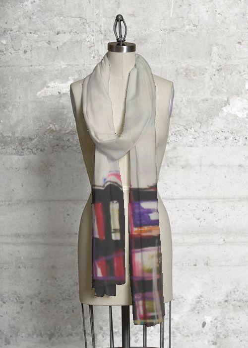 Cashmere Silk Scarf - Innocence Silk Scarf by VIDA VIDA WE5vRY0J