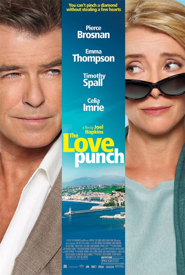 5/23/14 The Love Punch Poster, Starring Pierce Brosnan