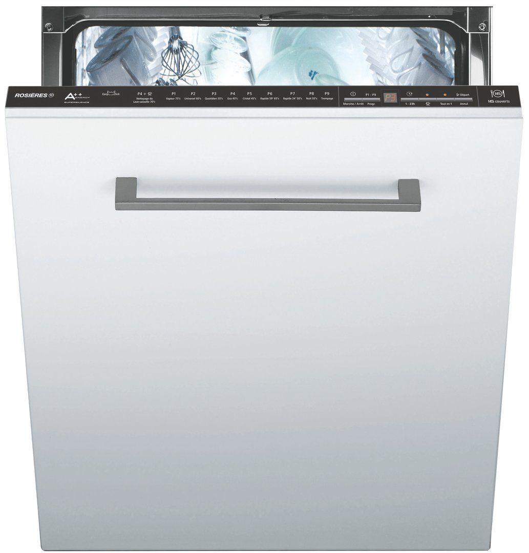 Entretien Du Lave Vaisselle lave-vaisselle intégrable 16 couverts rosières pour votre