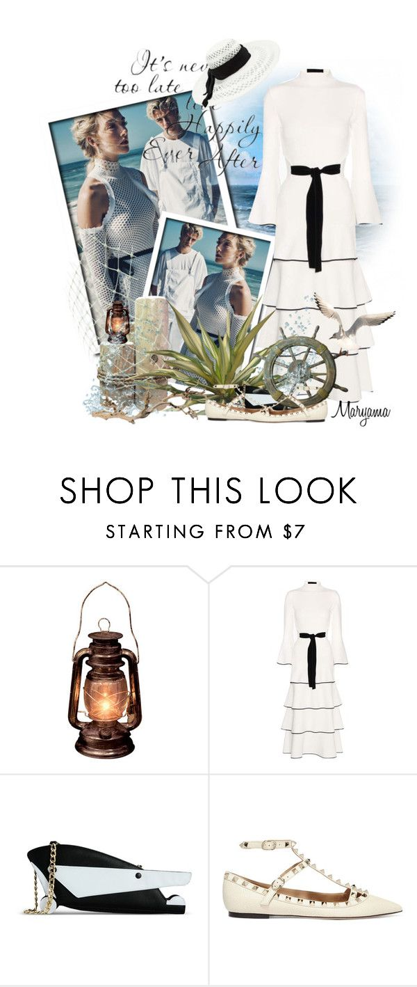 """586"" by klukina-mv ❤ liked on Polyvore featuring Proenza Schouler, J.W. Anderson, Valentino and Chico's"