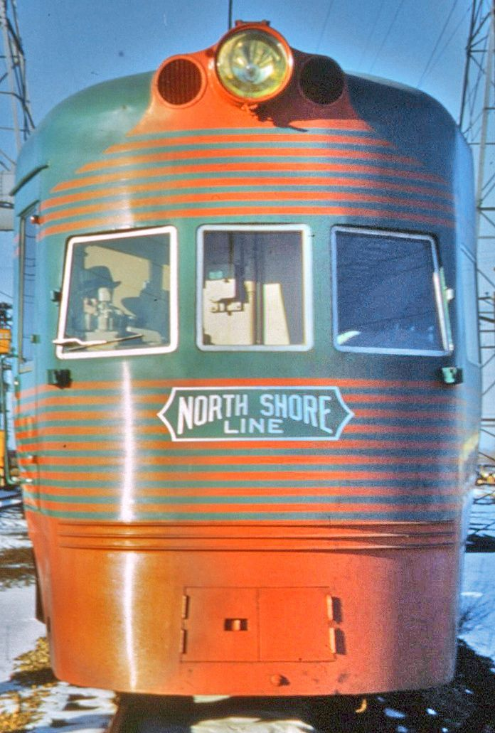 Chicago North Shore and Milwaukee Railroad electric