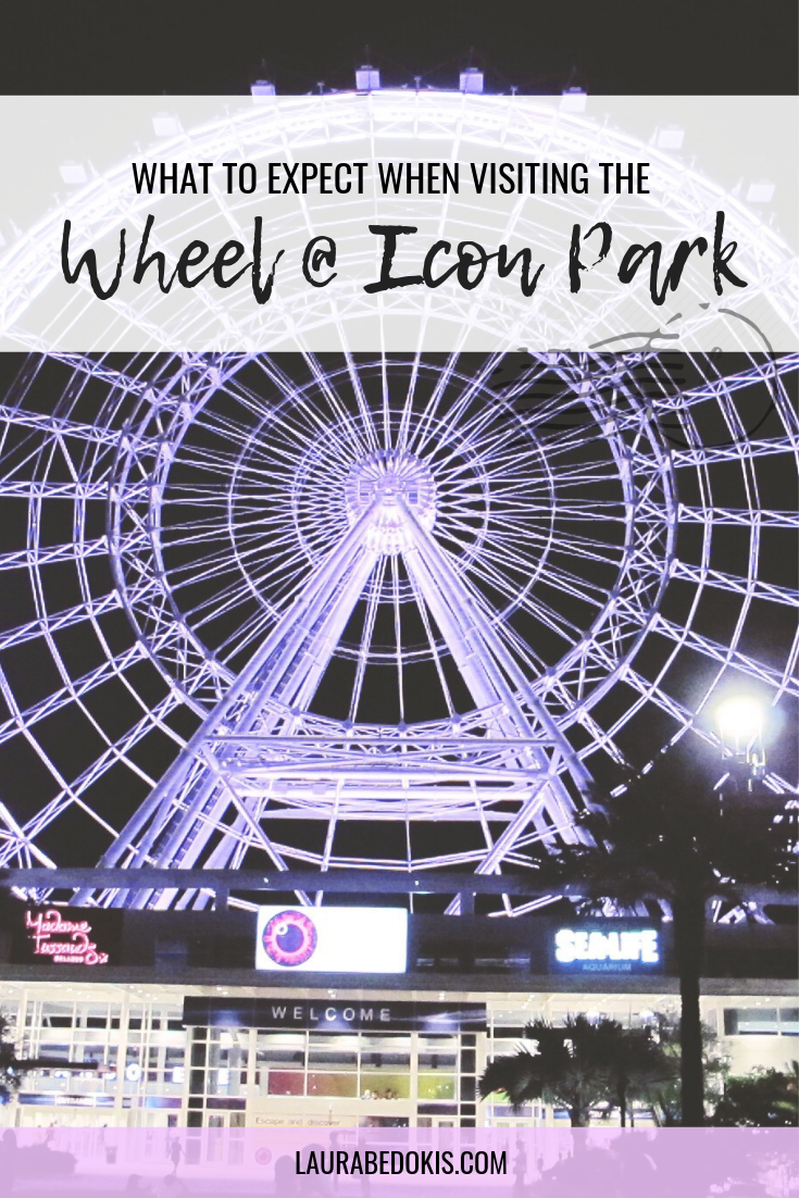 The Wheel at Icon Park Icon parking, Orlando parks