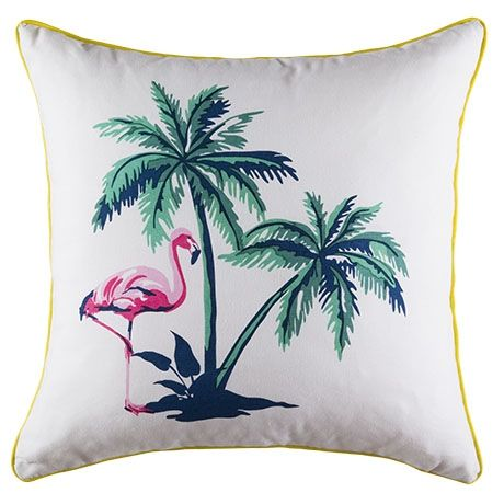 Flamingo Island Cushion 50x50cm | Freedom Furniture and Homewares