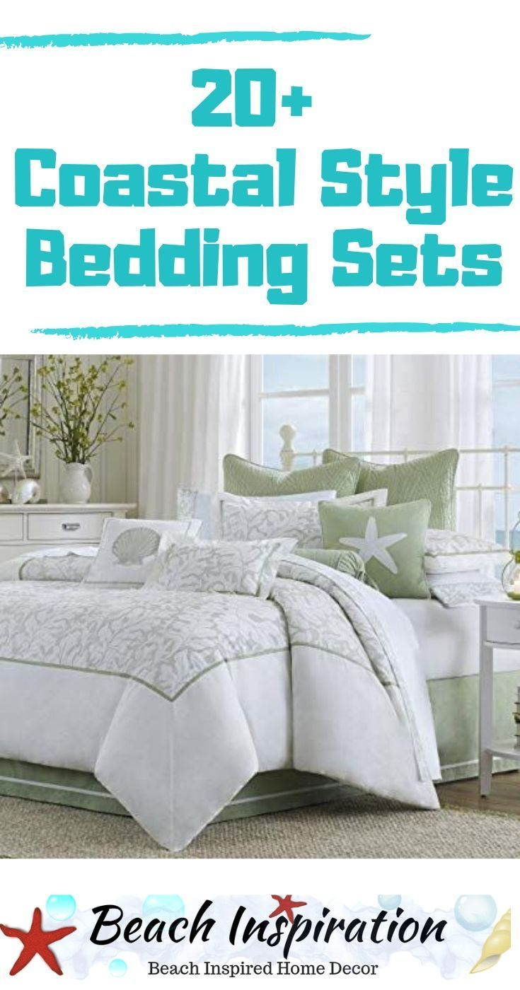 Photo of 20 Coastal Bedding Sets For Beach Themed Bedroom